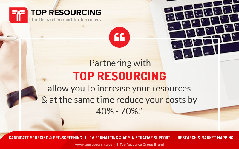 Partnering With Top Resourcing Allow You To Increase Your Resources