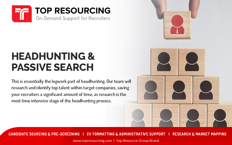 This Is Essential The Legwork Part of Headhunting..