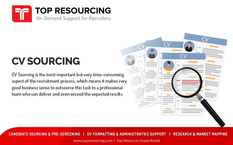 CV Sourcing Is The Most Important Aspect Of Recruitment Process