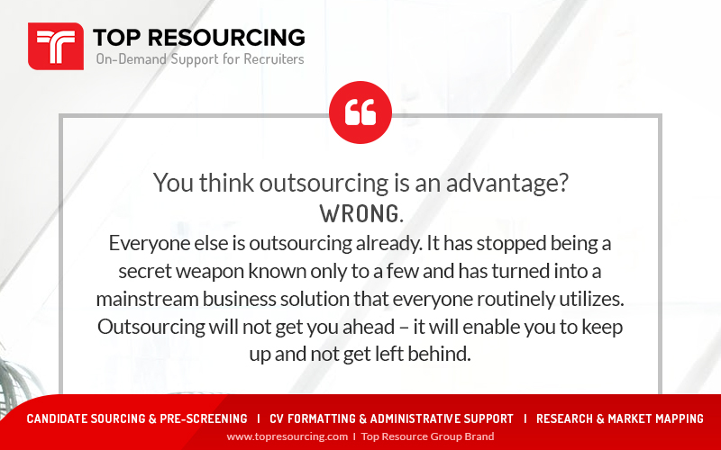 You Think Outsourcing is An Advantage?