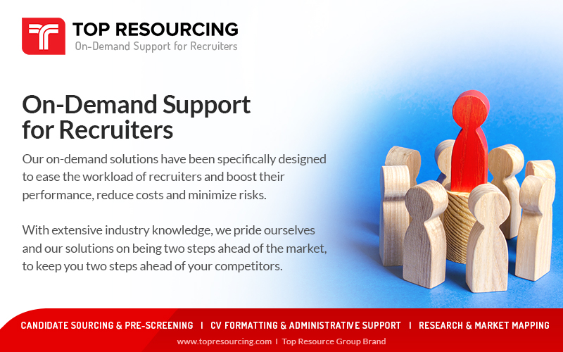 We Provide On-Demand Support to Recruiters.